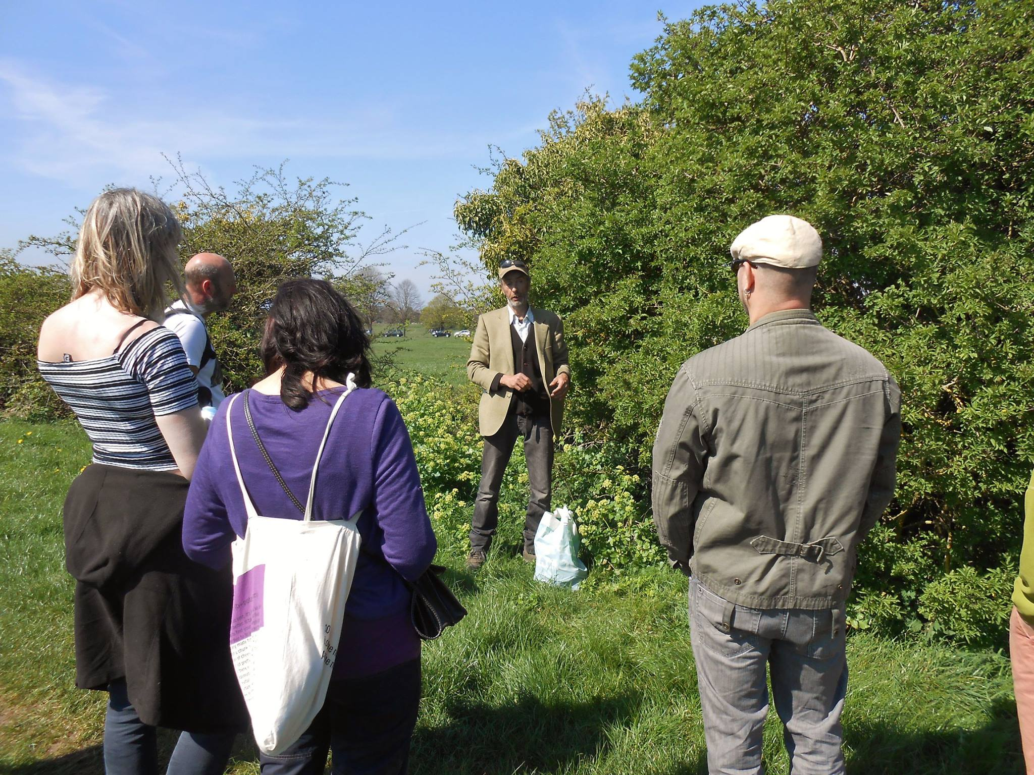 Wild plant Guide Chris Hope share almost 20 years of work with wild plants